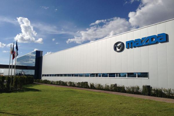 Завод Mazda в Мексике Фото 01