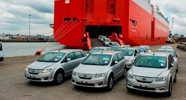 автомобили BYD в США