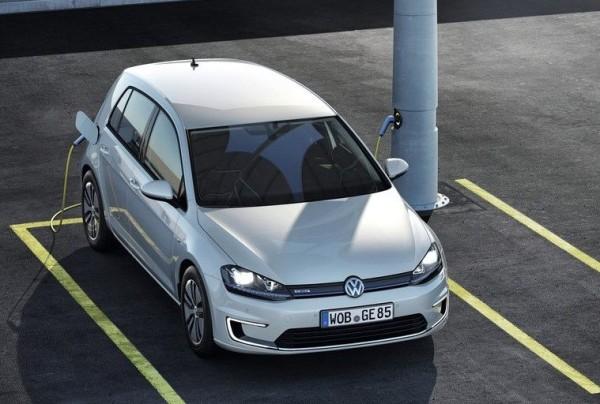 гибридный VW Golf GTE 2014