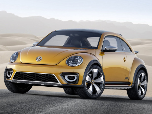 концепт Volkswagen Beetle Dune 2014 Фото 01
