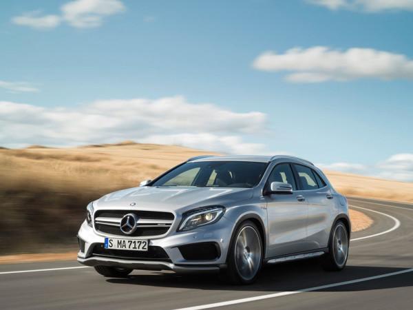 кроссовер Mercedes-Benz GLA 45 AMG 2014 Фото 09