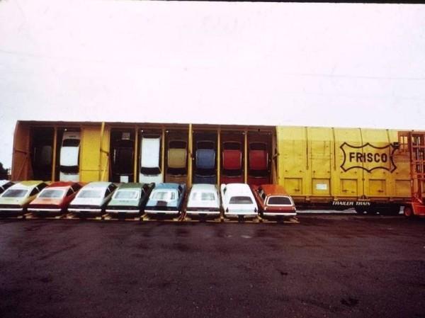 необчный способ перевозить автомобили США автомобилей Фото 01