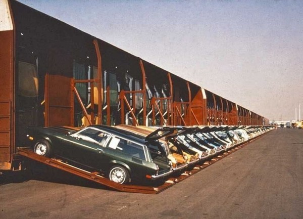 необчный способ перевозить автомобили США автомобилей Фото 03