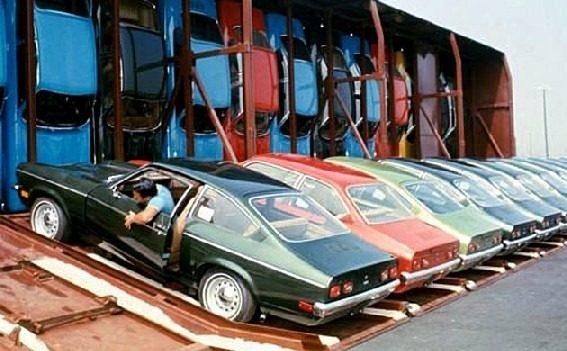 необчный способ перевозить автомобили США автомобилей Фото 04