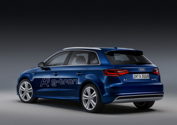 Audi A3 Sportback на газе Фото 02
