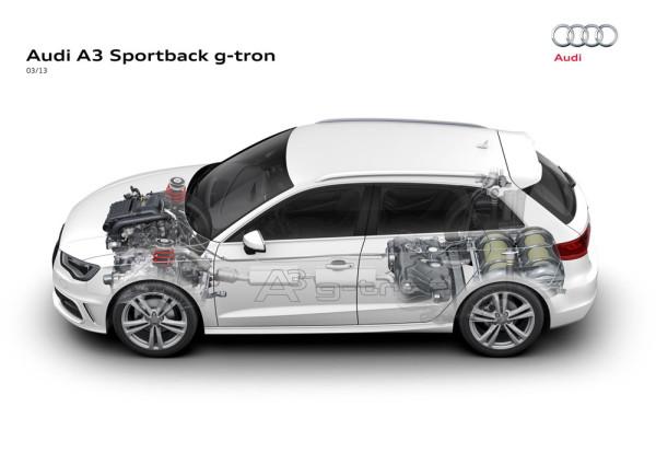 Audi A3 Sportback на газе Фото 03