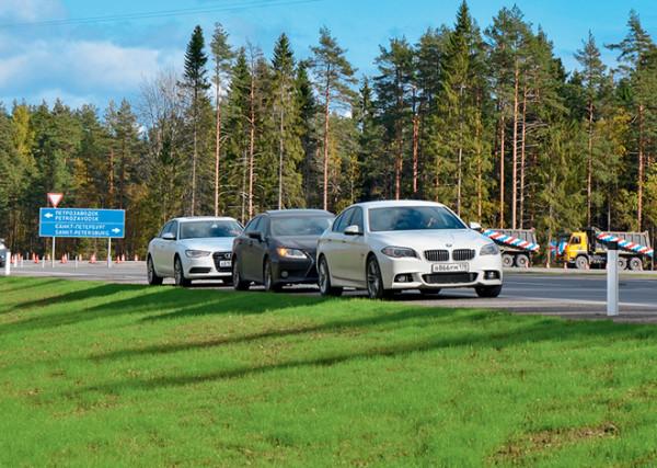Audi A6 vs Bmw 5 серии vs Lexus ES350-2
