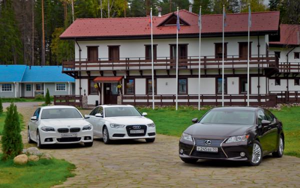 Audi A6 vs Bmw 5 серии vs Lexus ES350-4