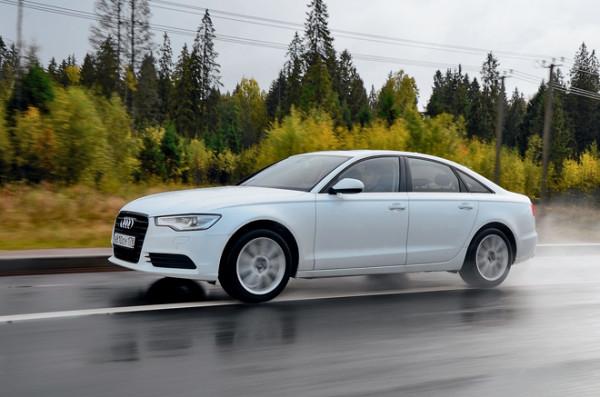 Audi A6 vs Bmw 5 серии vs Lexus ES350-6