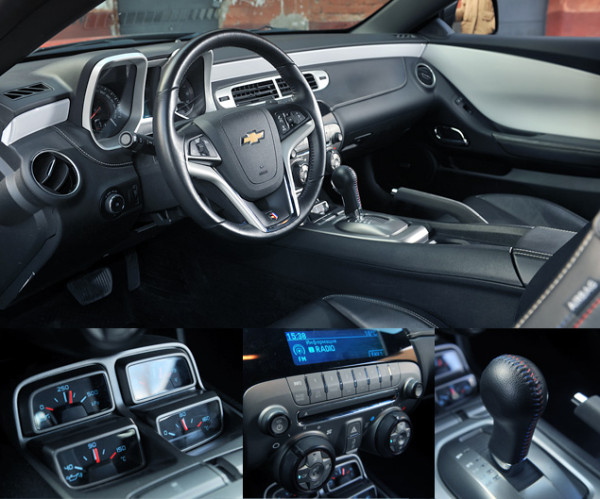 Cadillac CTS-V и Chevrolet Camaro SS-4