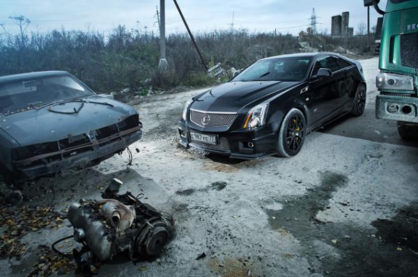 Cadillac CTS-V и Chevrolet Camaro SS-9