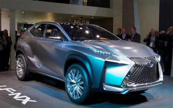 концепт Lexus LF-NX