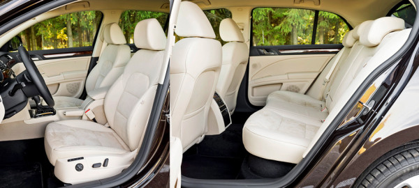 Mazda6, Toyota Camry и Skoda Superb-10