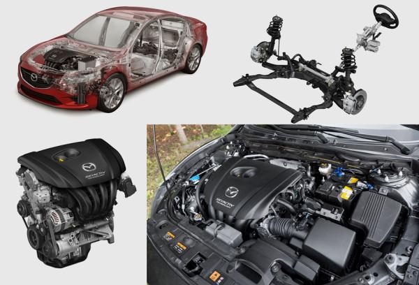 Mazda6, Toyota Camry и Skoda Superb-26