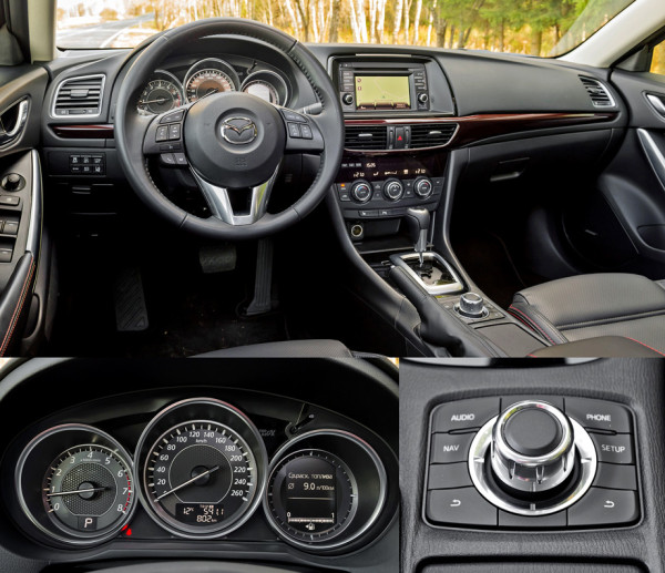 Mazda6, Toyota Camry и Skoda Superb-5