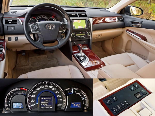 Mazda6, Toyota Camry и Skoda Superb-7