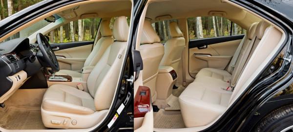 Mazda6, Toyota Camry и Skoda Superb-8