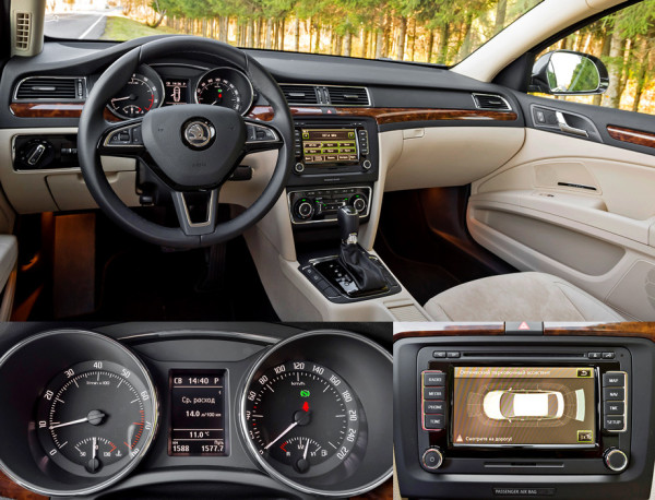 Mazda6, Toyota Camry и Skoda Superb-9