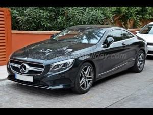 Первый в истории Mercedes S-Class Coupe