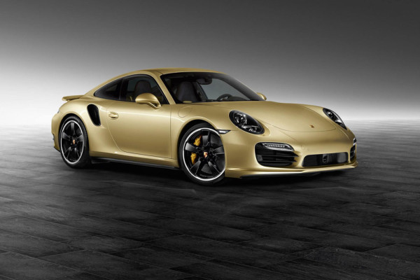 Porsche 911 Turbo Lime Gold Metallic 2014 Фото 01