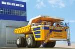 Самый большой грузовик БелАЗ-75710 2014 Фото 004