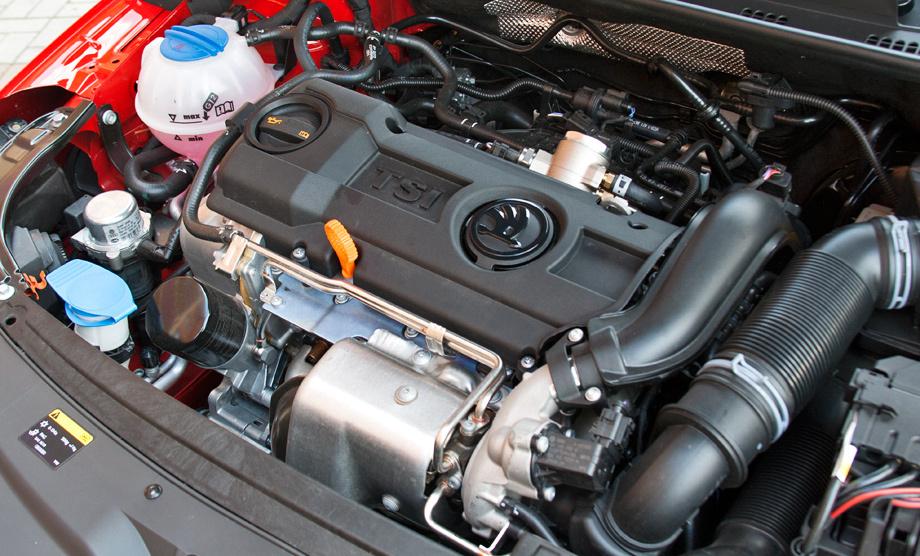 Технические характеристики двигателя шкода рапид