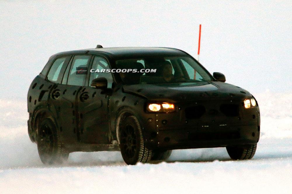 Volvo xc90 2014 шпионские фото