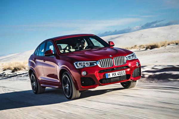 BMW X4 2014 Фото 32