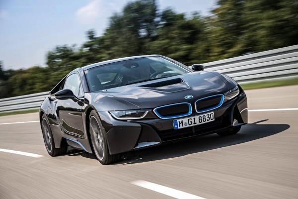 BMW i8 2014 Фото 21