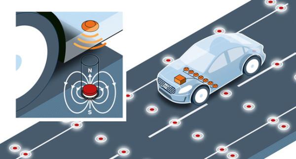 Volvo испытывает магнитную систему