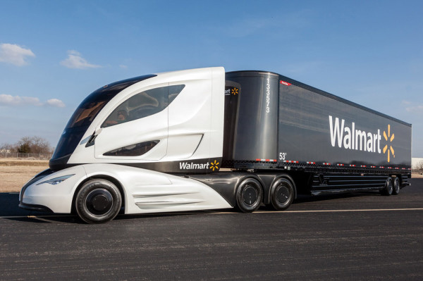 грузовик Walmart WAVE
