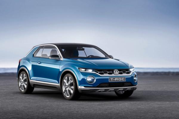 концепт Volkswagen T-Roc 2014 Фото 12