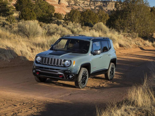 кроссовер Jeep Renegade 2015 Фото 10