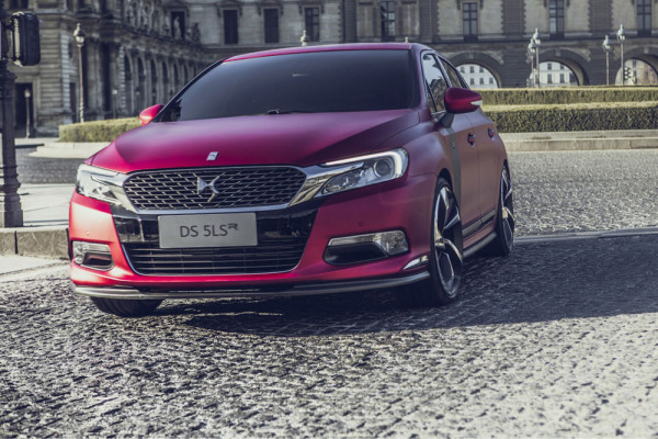 Citroen DS 5LS R Performance Concept 2014 Фото 05