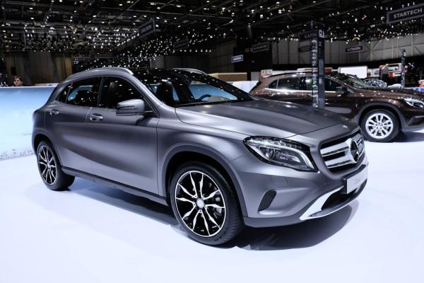 Mercedes GLA 2014 Фото 02