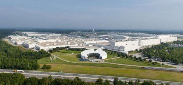Завод BMW в Спартанбурге Фото 01