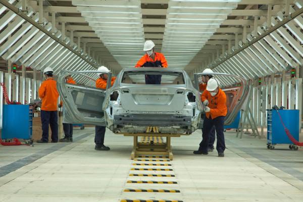 Завод Volvo в Китае Фото 03